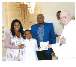 His son Obinna 1st Holly Communion 003